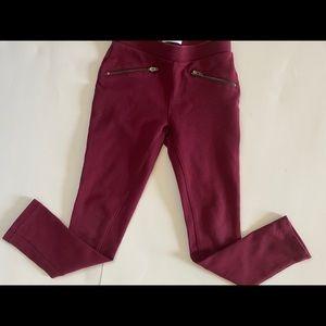 Children's Place Burgundy Pants 6X/7